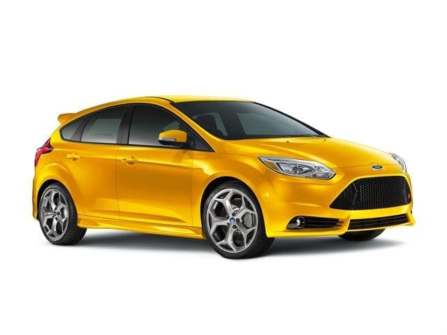 Photo Used 2014 Ford Focus ST Hatchback EcoBoost I4 GTDi DOHC Turbocharged VCT in Red Hill, PA