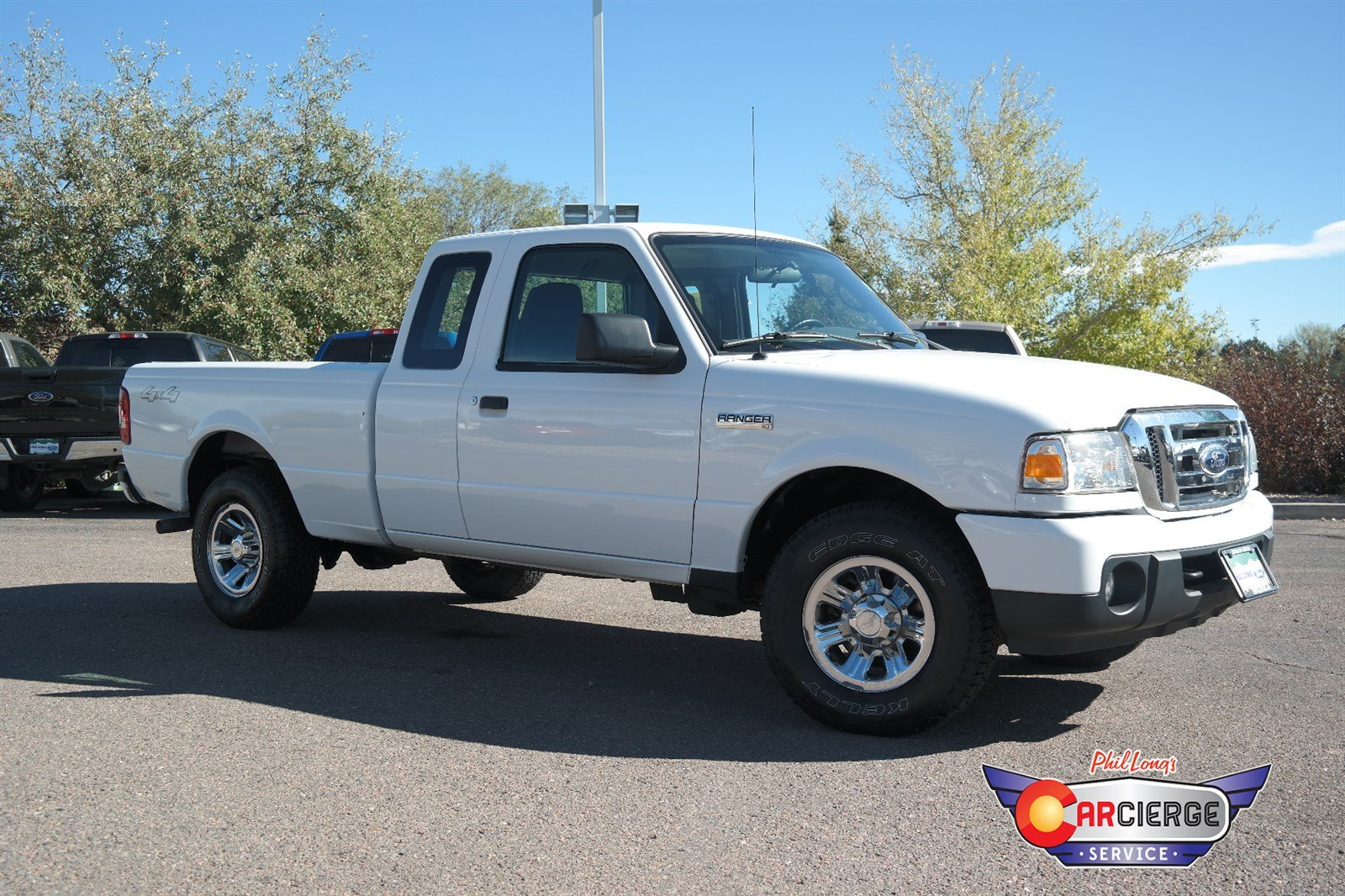 Photo Pre-Owned 2009 Ford Ranger XLT 4-Wheel Drive Extended Cab Pickup