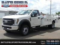 2018 Ford F-550 Reg Cab 4x2 XL w/11' Utility Body