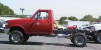 PRE-OWNED 1997 FORD F-350 CHASSIS CAB REG CHAS DRW 4X4 2WD REGULAR CAB CHASSIS-CAB