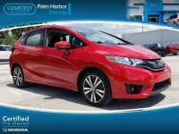 Certified 2015 Honda Fit EX Hatchback in Tampa FL