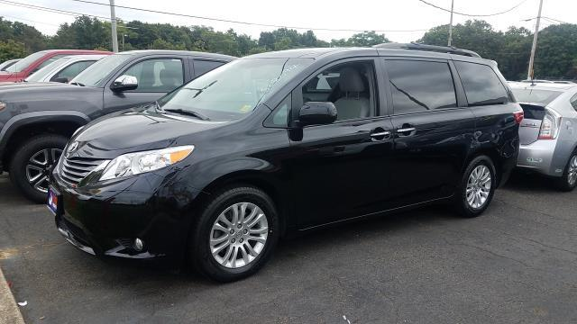 Photo Certified Used 2015 Toyota Sienna XLE Van For Sale on Long Island, New York