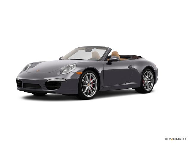 Photo Pre-Owned 2013 Porsche 911 Carrera S Rear Wheel Drive Convertible