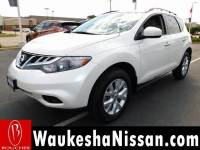 Certified Pre-Owned 2014 Nissan Murano SV SUV in Waukesha, WI