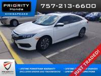 Certified 2017 Honda Civic EX Sedan in Chesapeake, VA