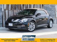 2013 Volkswagen Beetle Convertible 2dr DSG 2.0L TDI w/Sound/Nav