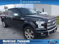 2015 Ford F-150 Platinum Truck SuperCrew Cab 4x4 in Pensacola