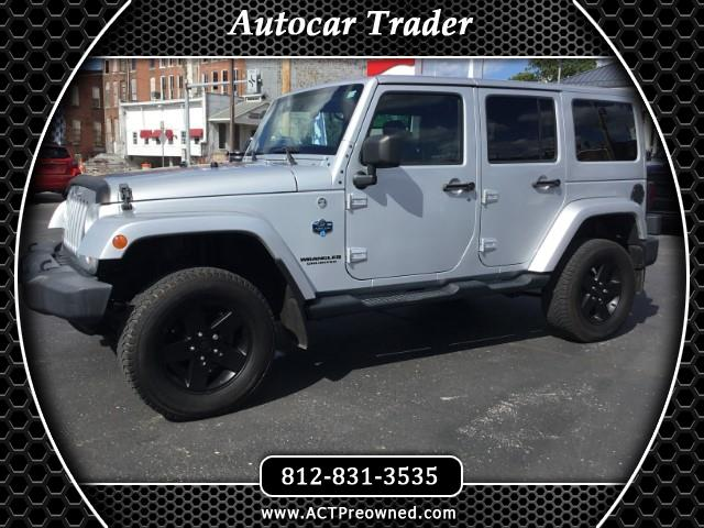 Photo 2012 Jeep Wrangler Unlimited Sahara 4WD Arctic Edition