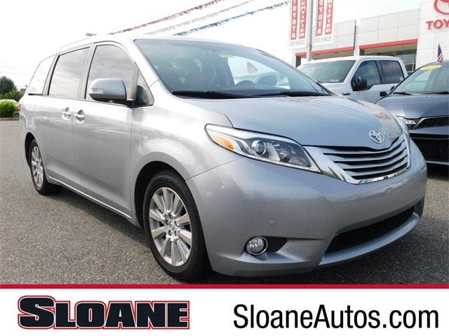 Photo Certified Used 2015 Toyota Sienna Limited Premium MinivanVan FWD Philadelphia