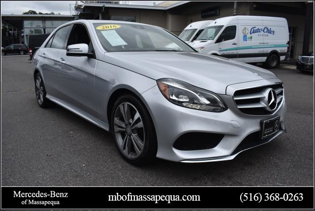 Photo Certified Pre-Owned 2016 Mercedes-Benz E 350 Sport AWD 4MATIC