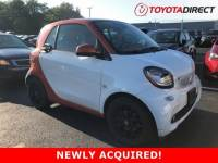 2016 smart fortwo Coupe Rear-wheel Drive