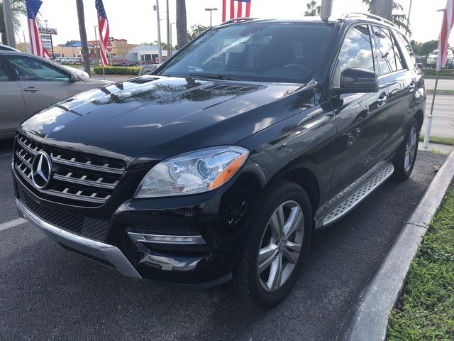 Photo Used 2013 Mercedes-Benz M-Class ML 350 SUV in Miami