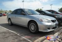 Pre-Owned 2005 Honda Civic Cpe LX Front Wheel Drive 2dr Car