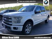 2015 Ford F-150 Platinum * Very Clean Trade In * Balance of Factor Truck SuperCrew Cab 4x4