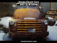 1950 Chevrolet 1 Ton Chassis-Cabs