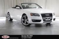 Pre-Owned 2012 Audi A5 2dr Cabriolet Auto FrontTrak 2.0T Premium Plus
