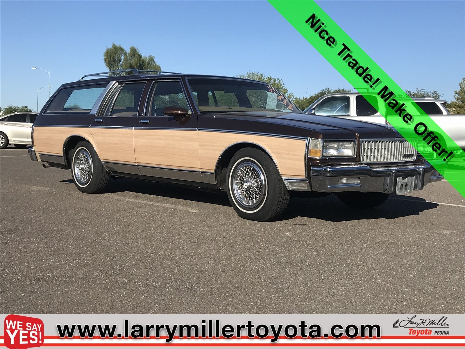 Photo Used 1988 Chevrolet Caprice For Sale  Peoria AZ  Call 866 748-4281 on Stock 82011A