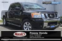 Pre-Owned 2015 Nissan Titan 2WD Crew Cab Short Bed SV