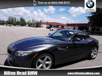 2015 BMW Z4 sDrive28i * BMW CPO Warranty * One Owner * 6-Speed Convertible Rear-wheel Drive