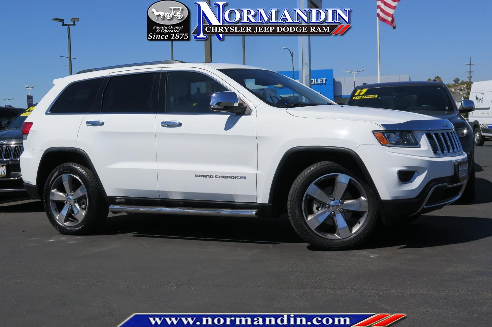 Photo CERTIFIED PRE-OWNED 2014 JEEP GRAND CHEROKEE LIMITED 4WD