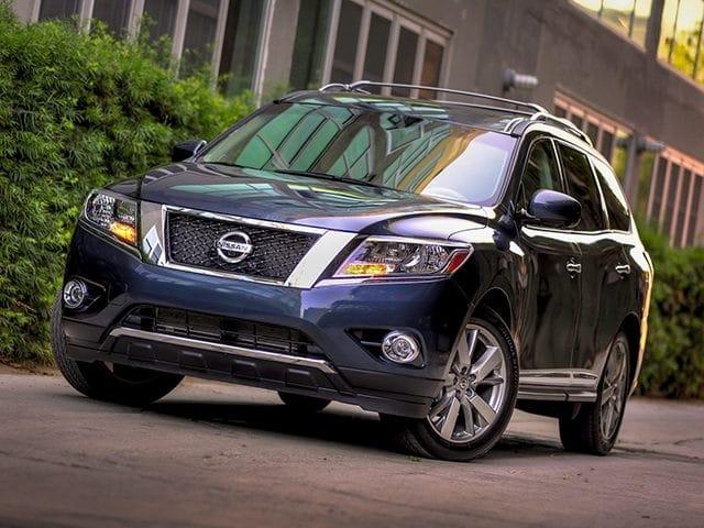 Photo Used 2013 Nissan Pathfinder SUV Dealer Near Fort Worth TX