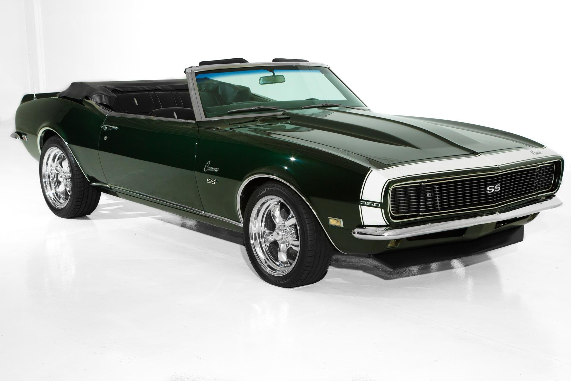 Photo 1968 Chevrolet Camaro Midnight Green Metallic 4 Spd AC