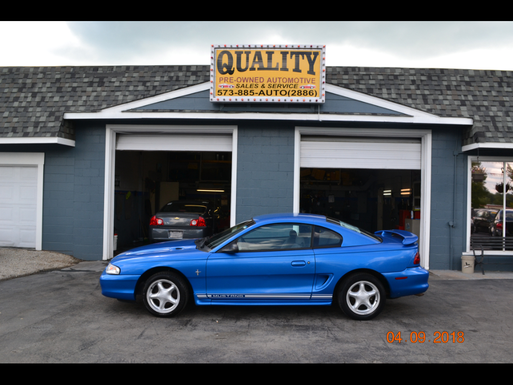 Photo 1998 Ford Mustang 2dr Cpe