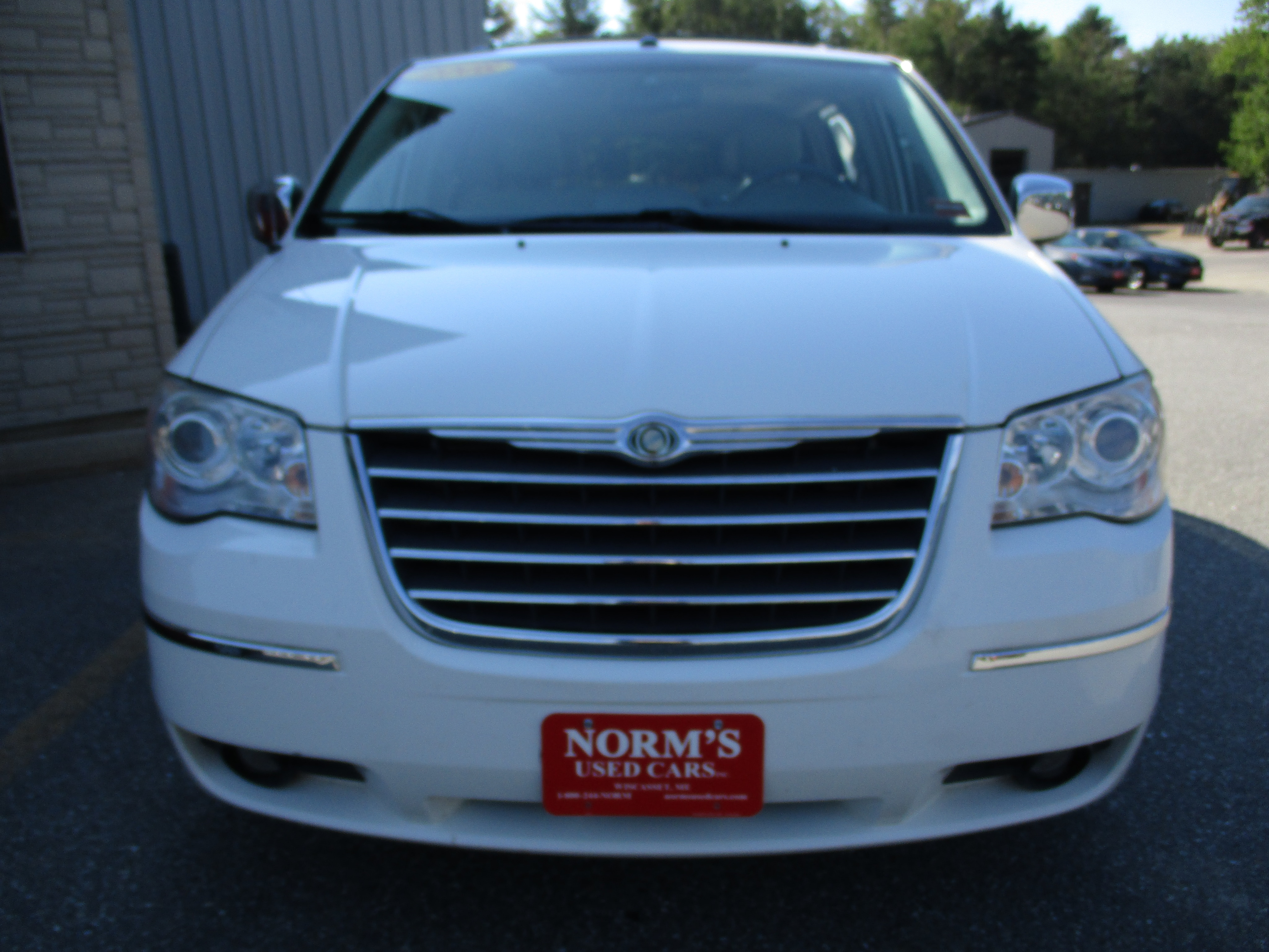 Photo Used 2008 Chrysler Town  Country For Sale  Wiscasset ME