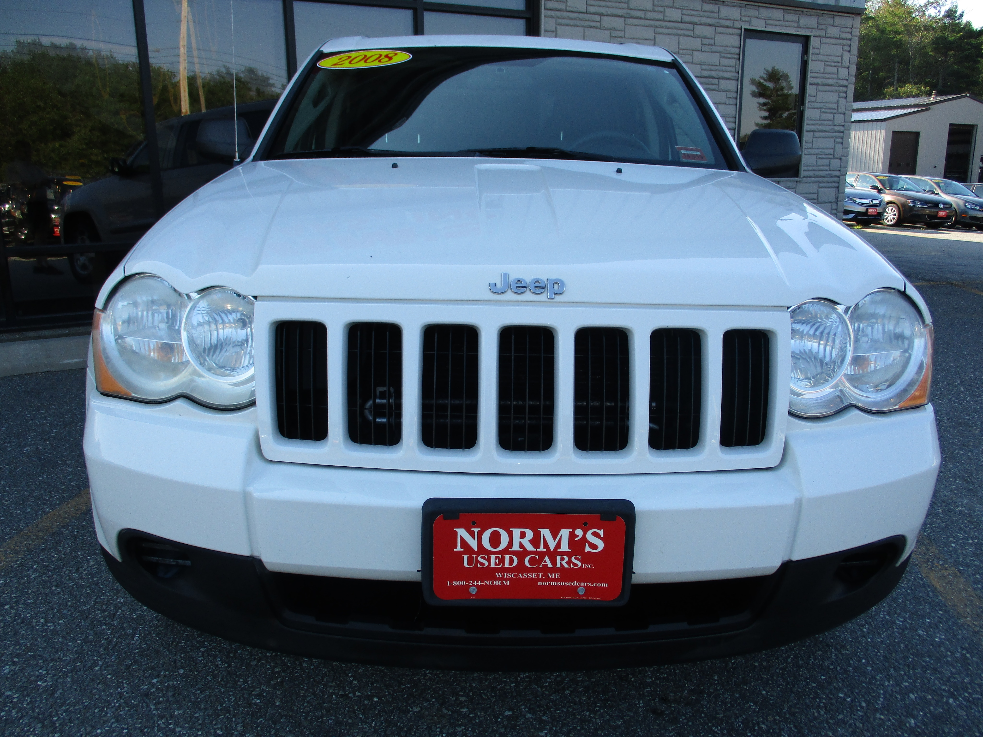 Photo Used 2008 Jeep Grand Cherokee For Sale  Wiscasset ME