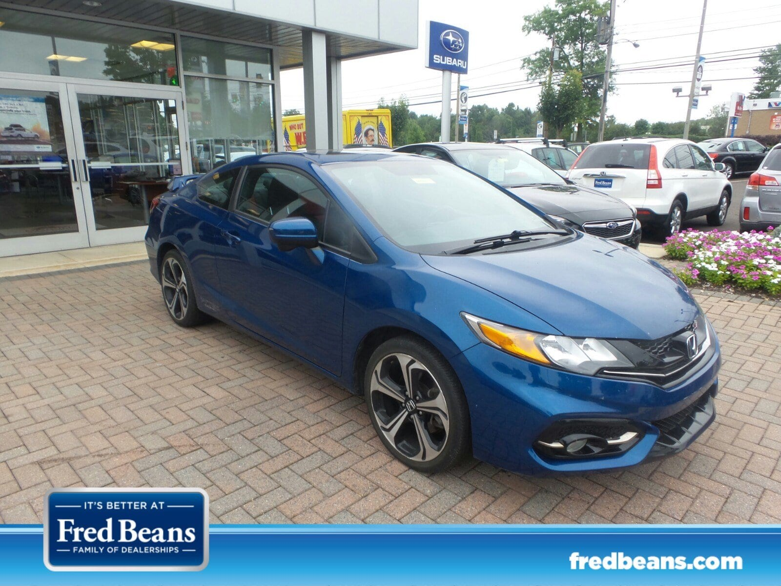 Photo Used 2014 Honda Civic Coupe Si For Sale in Doylestown PA  Serving Jenkintown, Sellersville  Feasterville  2HGFG4A50EH702816