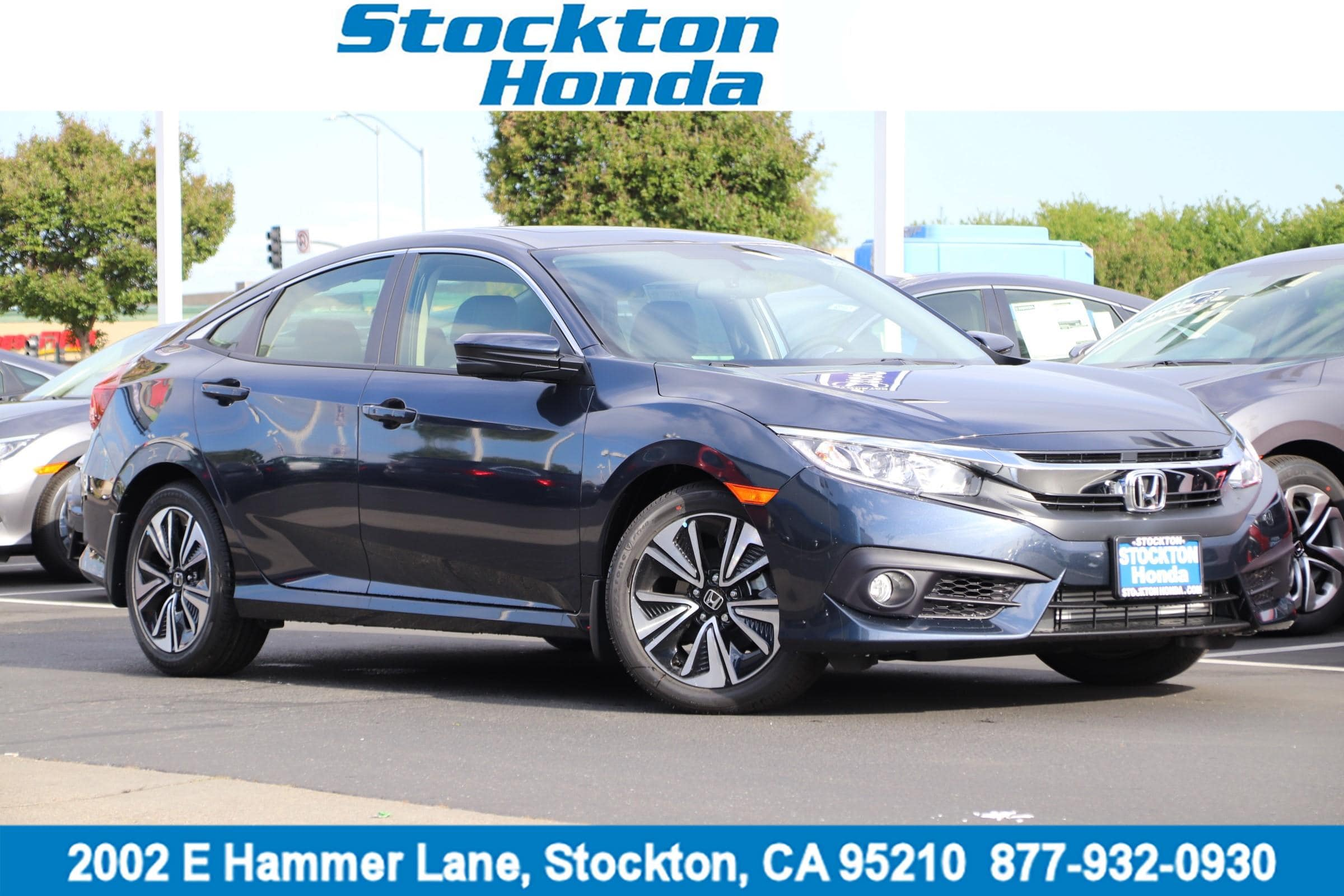 Photo Certified Used 2018 Honda Civic EX-T For Sale in Stockton, CA
