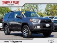 2012 Toyota 4Runner Trail SUV 4x4 in Temecula