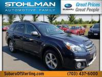 Certified 2014 Subaru Outback 2.5 Limited Special Appearance Package + EyeSight in Sterling