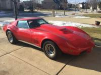 1975 Chevrolet Corvette -THIS LITTLE RED VETTE SCREAMS POWER-BIG BLOCK 454
