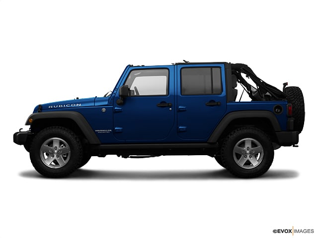 Photo Used 2009 Jeep Wrangler Unlimited Rubicon Deep Water Blue Pearl For Sale  Bennington VT  VIN1J4GA69199L719022