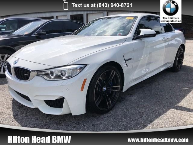 Photo 2016 BMW M4 Convertible Convertible  BMW CPO Warranty  One Owner  Navig Convertible Rear-wheel Drive