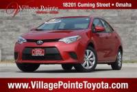 2014 Toyota Corolla LE Sedan FWD for sale in Omaha