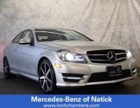 2015 Mercedes-Benz C-Class C 350 4MATIC Coupe in Natick