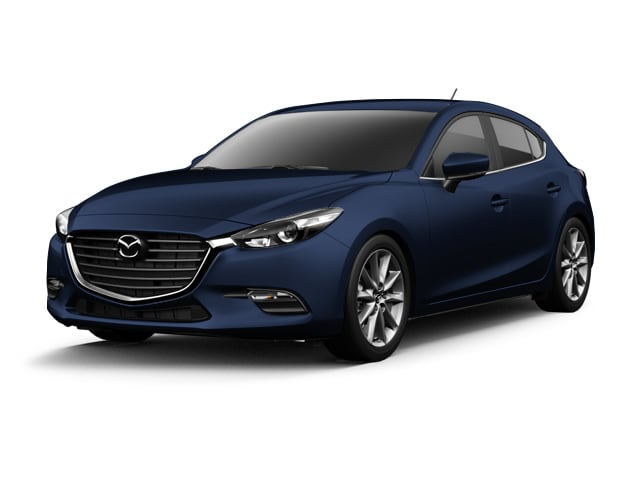 Photo 2017 Certified Used Mazda Mazda3 Hatchback Touring 2.5 Deep Crystal Blue Mica For Sale Manchester NH  Nashua  StockP6079