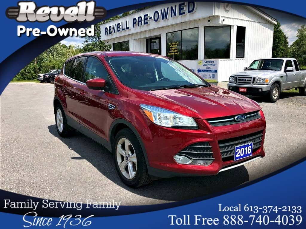 Photo 2016 Ford Escape SE 4X4  1-owner  2.0 Ecoboost