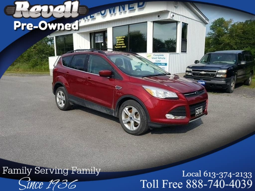 Photo 2015 Ford Escape SE 4X4  1-owner, 2.0 Ecoboost, Navi, Sync