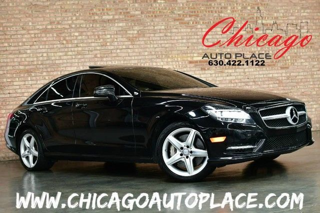 Photo 2014 Mercedes-Benz CLS 550 4MATIC - 4.6L BI-TURBO V8 NAVIGATION BACKUP CAMERA KEYLESS GO BLACK LEATHER HEATEDCOOLED SEATS XENONS DYNAMIC SEATS KEYLESS GO POWER SUNSHADES