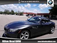 2015 BMW Z4 sDrive28i sDrive28i * BMW CPO Warranty * One Owner * 6-Speed Convertible Rear-wheel Drive