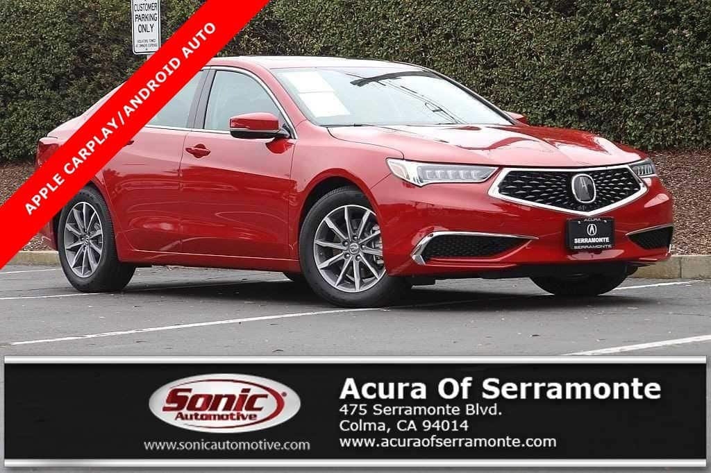 Photo Used 2018 Acura TLX Base For Sale in Colma CA  Stock SJA008270  San Francisco Bay Area