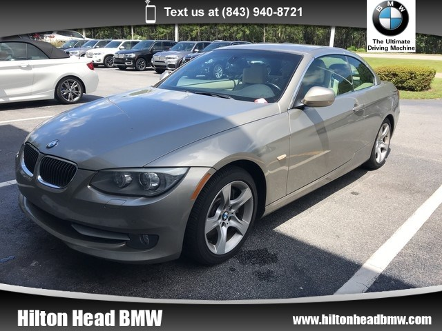 Photo 2011 BMW 335i Convertible 335i  Clean Local Trade In  Satellite Radio  Co Convertible Rear-wheel Drive