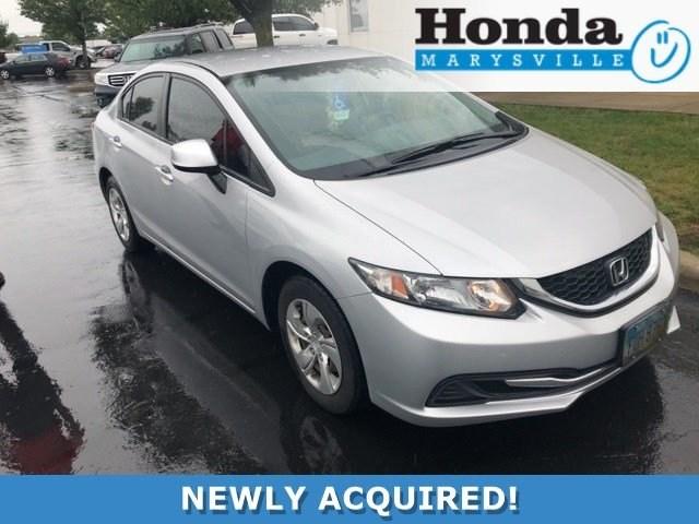 Photo Used 2013 Honda Civic LX Sedan