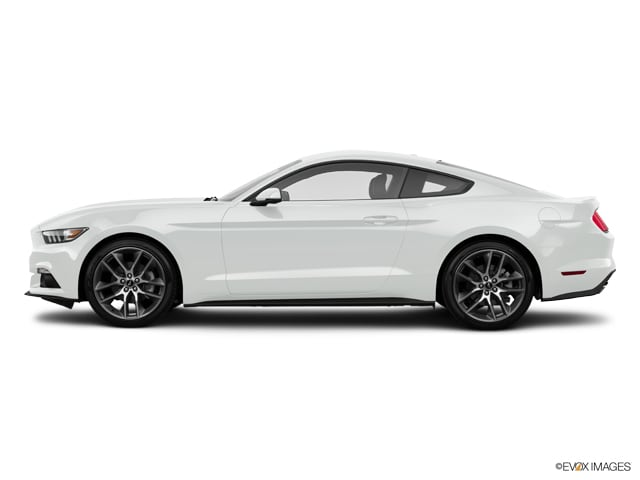 Photo Used 2015 Ford Mustang EcoBoost Premium Coupe for sale in Carrollton, TX