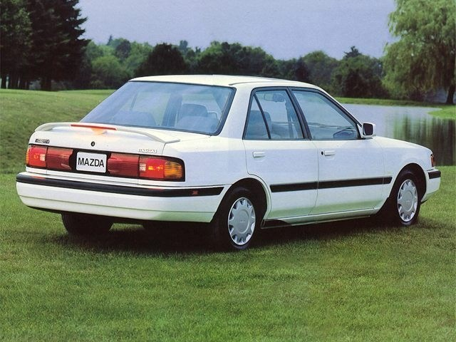 Photo Used 1994 Mazda Protege Sedan in Merced, CA