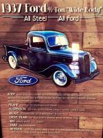 1937 Ford 1/2 Ton Wide Body All Steel