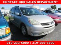 Used 2005 Toyota Sienna for Sale in Waterloo IA